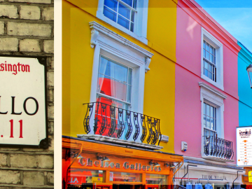 Tour Privado Notting Hill y Portobello