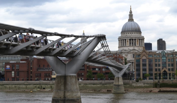 Puente Millenium - Tour Harry Potter de Londres