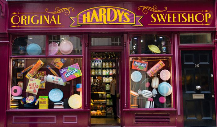Hardys (Honeydukes) - Tour Harry Potter Londres
