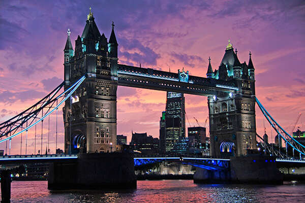 Tower Bridge - Londres - Paseando por Europa